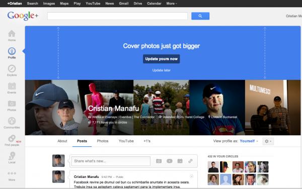 new google plus