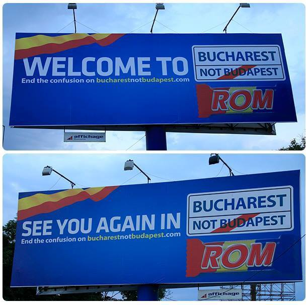 bucharest not budapest aeroport