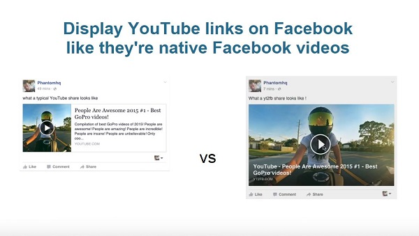 youtube to fb demo